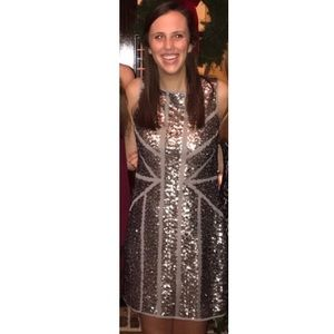 Silver New Years Dress